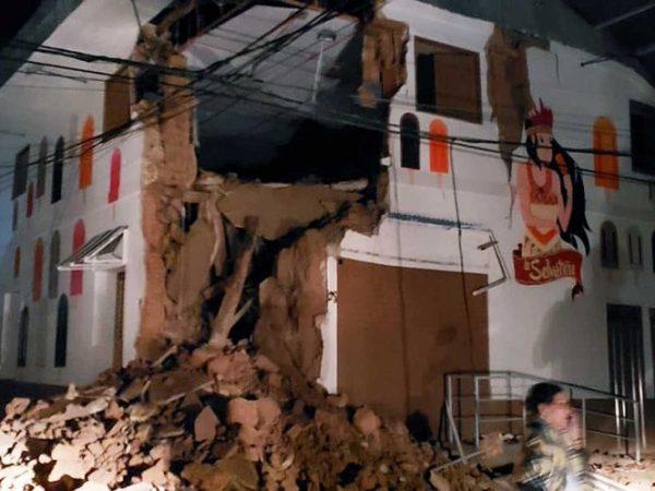 Deja fuerte sismo en Perú un muerto y 11 heridos