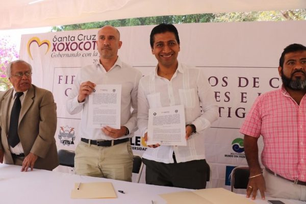 Gobierno de Xoxocotlán signa convenio de colaboración con la UNAM
