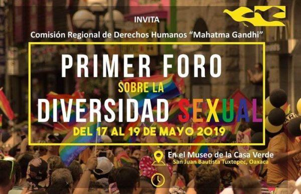 """Preparan primer foro sobre """"Diversidad Sexual"""" en Tuxtepec"""
