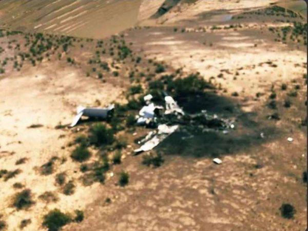 Confirman muerte de 13 personas por avionazo en Coahuila