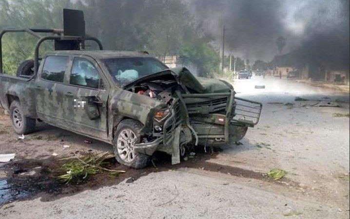 Suman ocho muertos tras enfrentamiento en Coahuila