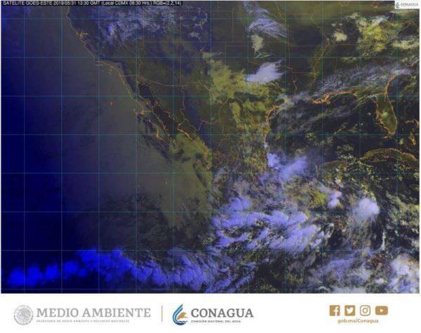 Pronostican intensas tormentas en gran parte del país