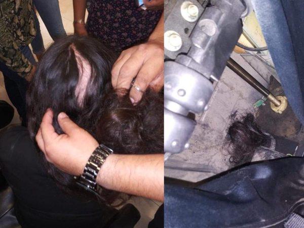 Sillón de masajes falla y arranca cabello a niña en Sinaloa