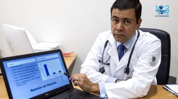 Mexicano 'contrarresta' la diabetes con cirugía de bajo costo