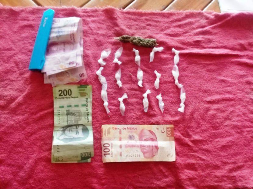 Ocupantes de mototaxi llevaban consigo 15 dosis de cocaína