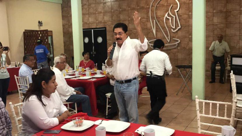 En su desesperación, inventan señalamientos que me fortalecen: URO en Tuxtepec