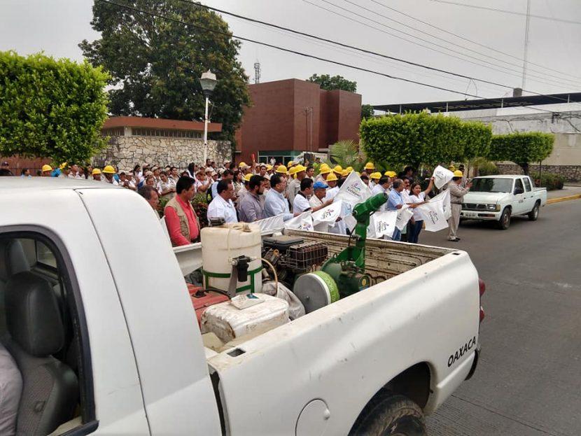Arranca Jurisdicción Sanitaria campaña intensa contra el Dengue, Zika y Chikungunya en Tuxtepec