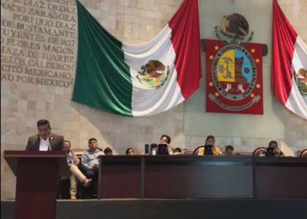 César Morales ofrece a los maestros analizar el PTEO en la etapa de armonización de la reforma educativa en Oaxaca