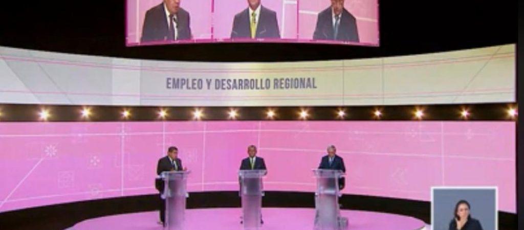 Señalamientos marcan debate de candidatos al gobierno de Puebla