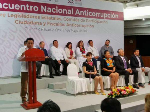 Oaxaca, sede del 1er Encuentro Nacional Anticorrupción