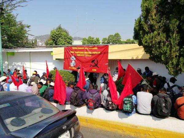 Otra vez oficinas de IOCIFED bloqueadas por incumplimiento de obras