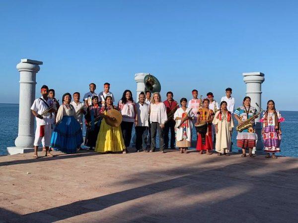 Jóvenes oaxaqueños, fueron los primeros en tocar en las Islas Marías