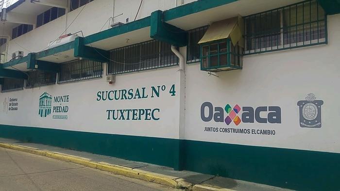 Reabre Monte de Piedad en Tuxtepec, con medidas de sanidad