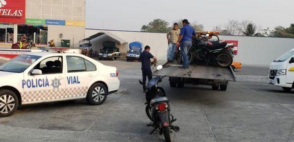 Corresponsabilidad entre motociclistas y policía, por desconocer ley y no aplicarlas