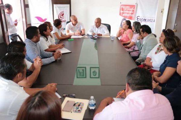 Gobierno de Santa Lucía del Camino y COBAO, celebran convenio en favor de juventud con vulnerabilidad económica