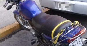 Recuperada motocicleta con reporte de robo vigente por Policías Estatales
