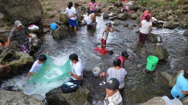Se suma Santa Úrsula a Fundación Modelo para la limpieza del rio Santo Domingo y Arroyo Sal