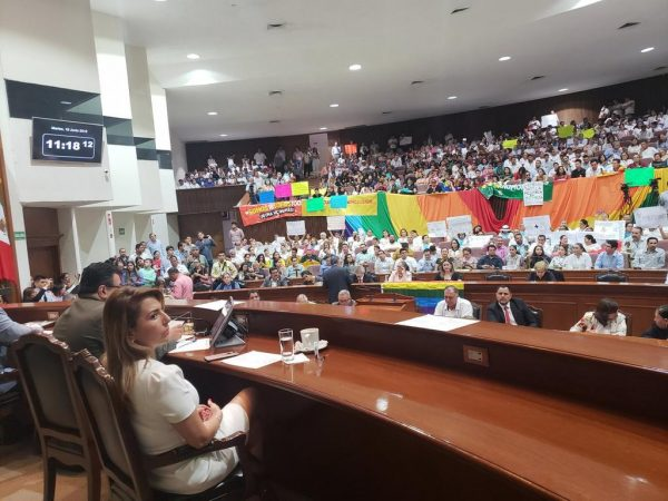 Congreso de Sinaloa dice no, al matrimonio igualitario