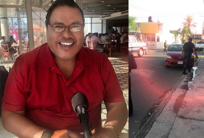 'Levantan' al periodista veracruzano Marcos Miranda; llevaba a su nieta a la escuela