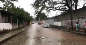 Tormenta eléctrica causa afectaciones en Tres Valles