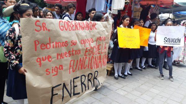 Se suma FNERRR a protesta nacional desde Oaxaca