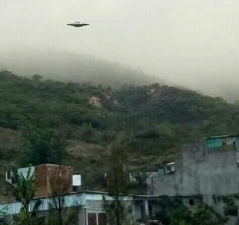 Avistamiento de OVNI en Oaxaca