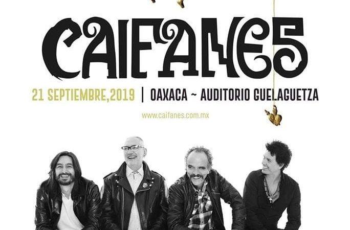 """""""Caifanes"""" se presentará en Oaxaca en el mes de septiembre"""