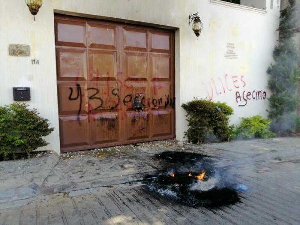 Sección XXII estropea evento a Ulises Ruiz Ortiz en Oaxaca