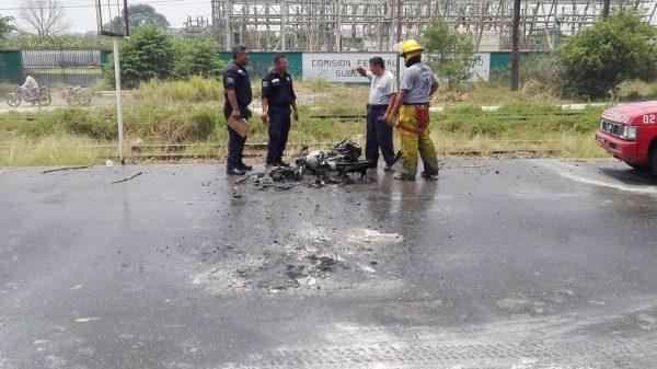 Reporta Cruz Roja descenso de accidentes automovilísticos; siguen los accidentes en motocicleta