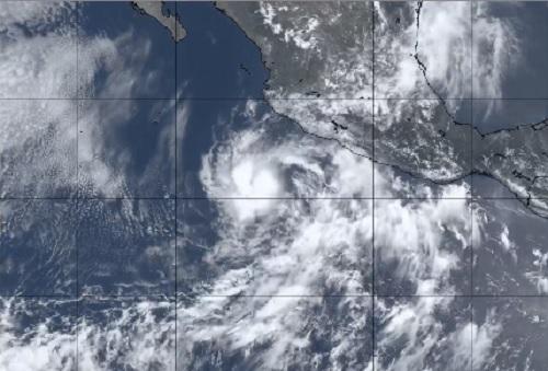 Se forma primer ciclón de la temporada en el Pacífico