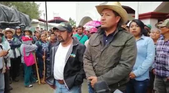 A balazos invasores quieren apoderarse de las tierras de Cuilapam, denuncia autoridad comunal