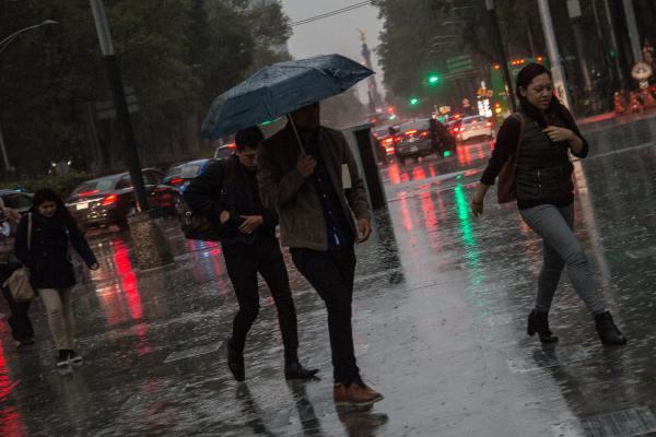 Prevén lluvias en occidente, sur, sureste y oriente del país