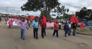 Con marcha, FP 14 de Junio exige a Murat la libertad de su líder