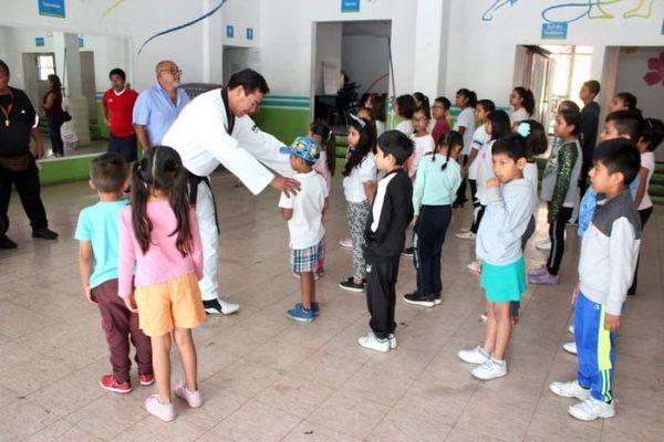 Promueve Ayuntamiento iniciación deportiva de la niñez capitalina