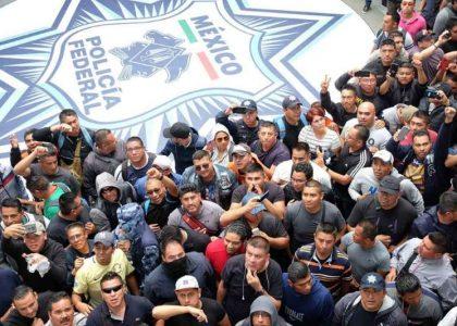 Policías federales convocan a paro nacional este 4 de julio