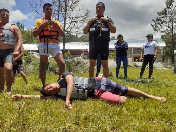 Imparte CEPCO curso Guardavidas en Cuerpos de Agua