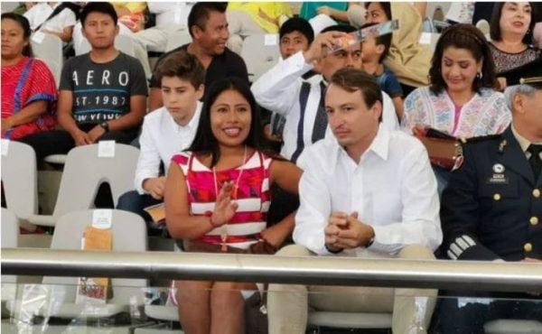 Yalitza Aparicio aparece en la Guelaguetza