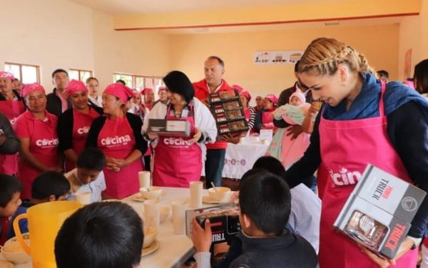 DIF Nacional verifica comedores comunitarios en Oaxaca