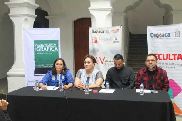 Invita Seculta a la Guelaguetza Gráfica-Oaxaca 2019