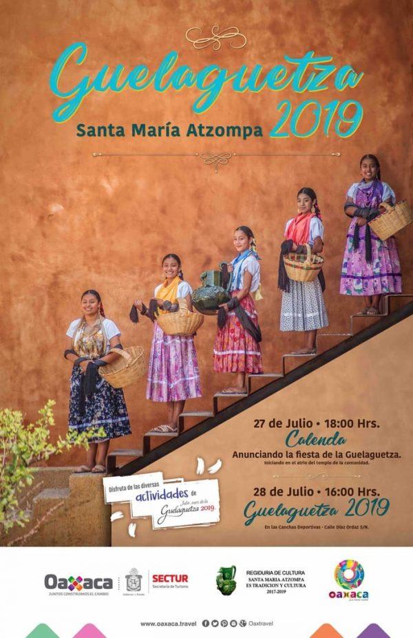 Tendrá Santa María Atzompa celebración de la Guelaguetza 2019