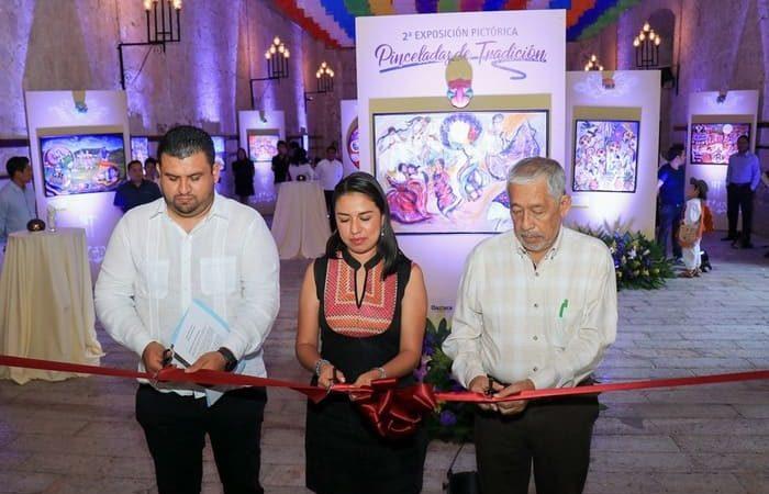 Inaugura Sectur Oaxaca exposición pictórica Pinceladas de Tradición 2019