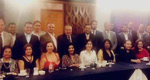 Barra mexicana colegio de abogados capítulo Oaxaca, celebraron su día