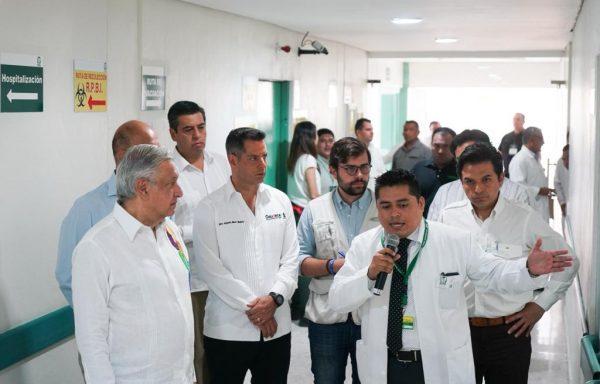 Oaxaca se suma a la reconstrucción del Sistema de Salud en México: Alejandro Murat