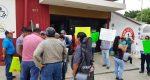 API y PUP protestan en Tribunal Superior de Justicia en Oaxaca