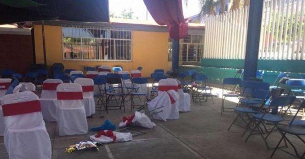 Criminales desatan balacera en graduación de kínder de Puebla
