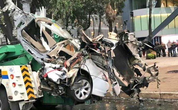Dan libertad condicional a conductor de BMW que mató a cuatro en Reforma
