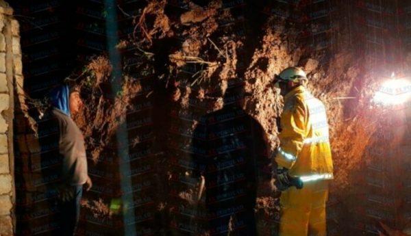 Deslave de cerro deja 7 muertos en Puebla