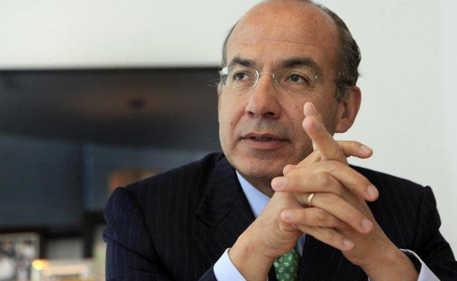 Niega Calderón estar detrás de las protestas de PF y exige presentar pruebas