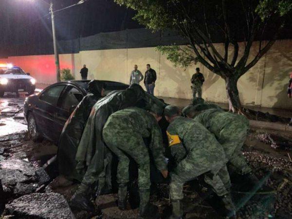 Activan Plan DN-III-E en Tlajomulco por inundaciones