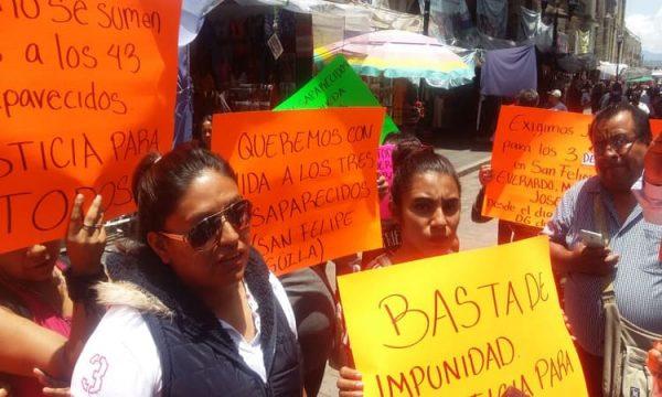 Jóvenes fueron por mezcal a San Felipe Güila y no han regresado: familiares